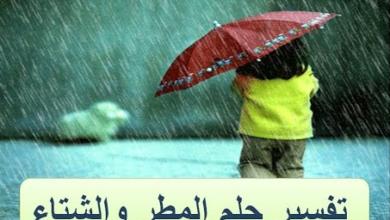 Photo of المطر في المنام