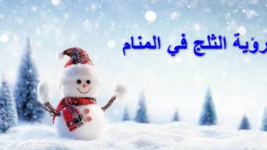 Photo of رؤية الثلج في المنام