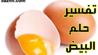 Photo of البيض في المنام للعزباء