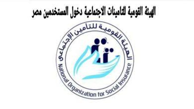 Photo of الهيئة القومية للتامينات الاجتماعية دخول المستخدمين مصر