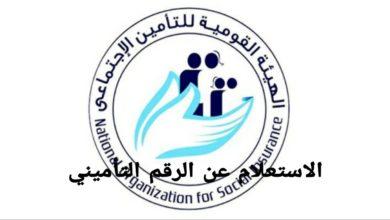 Photo of الاستعلام عن الرقم التأميني